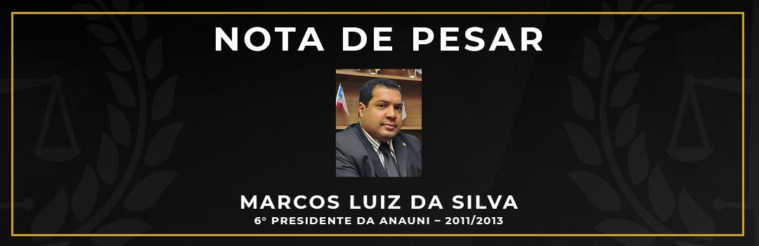 FORVM LAMENTA FALECIMENTO DO EX-PRESIDENTE DA ANAUNI MARCOS LUIZ DA SILVA